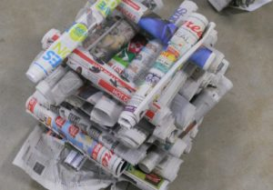 Newspaper Tower Game
