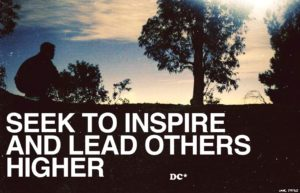Inspiring and getting inspired is all it takes.
