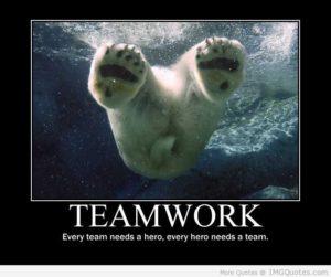 Every team needs a hero. Every hero needs a team.