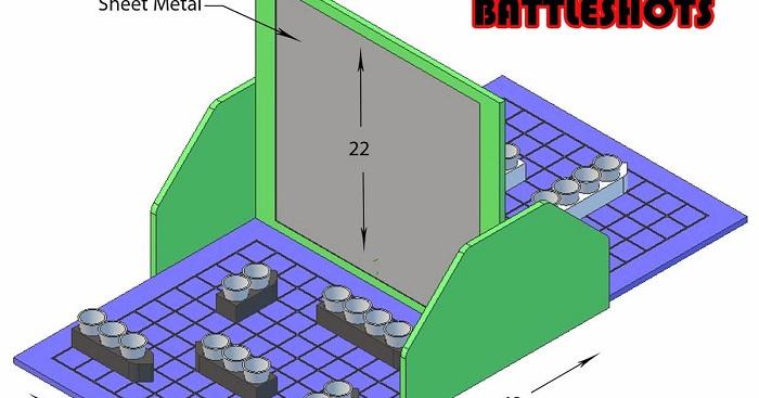 Battleshots arrangement