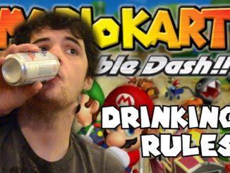 Mario Kart Drinking Game