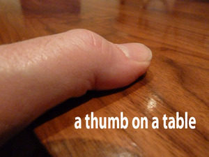 Master of thumbs