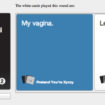 Pretend You're XYZZY:  Internet's reply to Cards Against Humanity